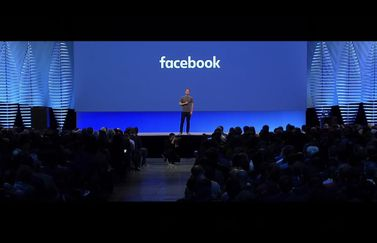 Facebook F8 conferentie Mark Zuckerberg