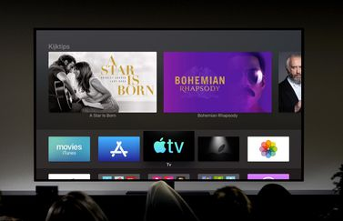TV-app op Apple TV.