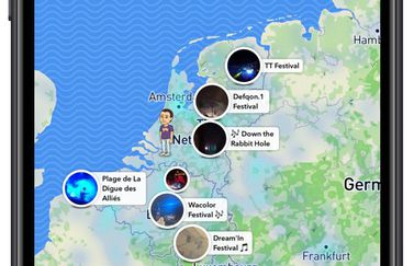 Snap Map privacy