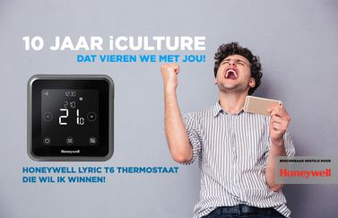 iCulture winactie: Honeywell Lyric T6 thermostaat