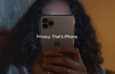 iPhone privacy-reclame