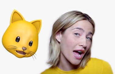 Animoji karaoke in iPhone X reclame.