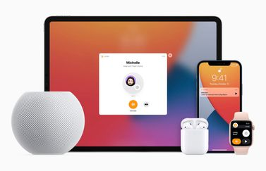 Intercom met HomePod mini